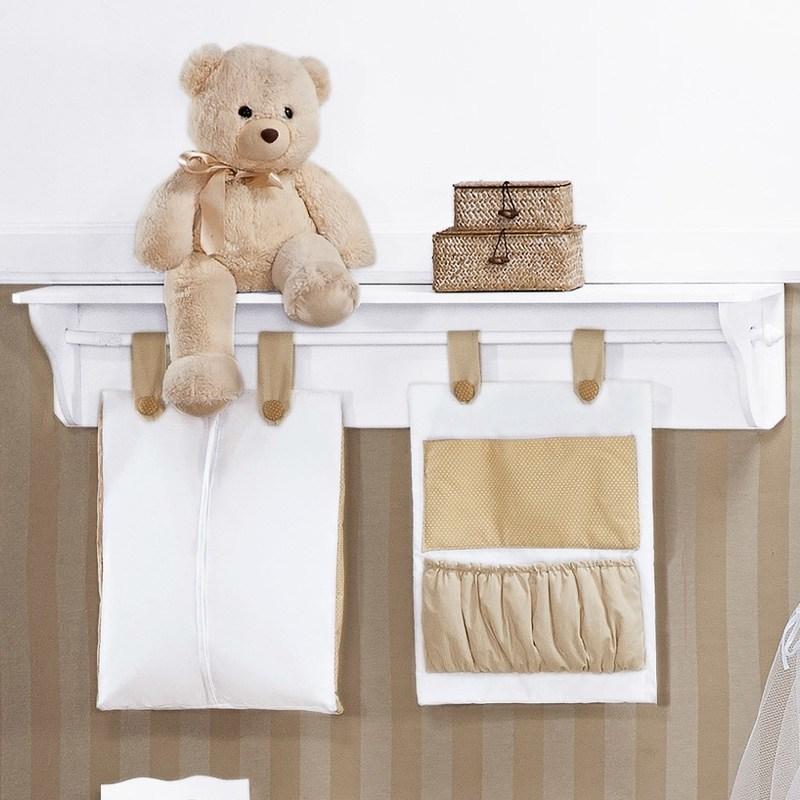 Porta Fraldas Varão Família Urso