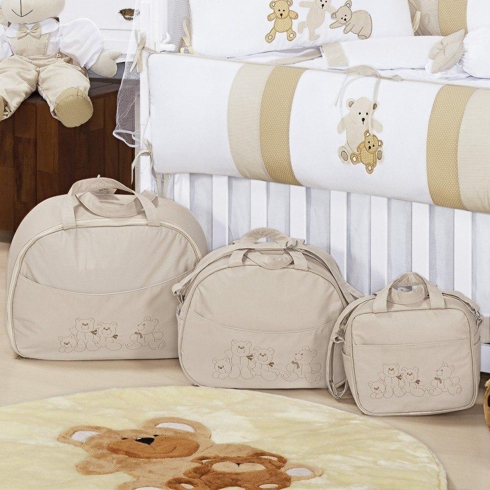 Conjunto de Bolsas Família Urso
