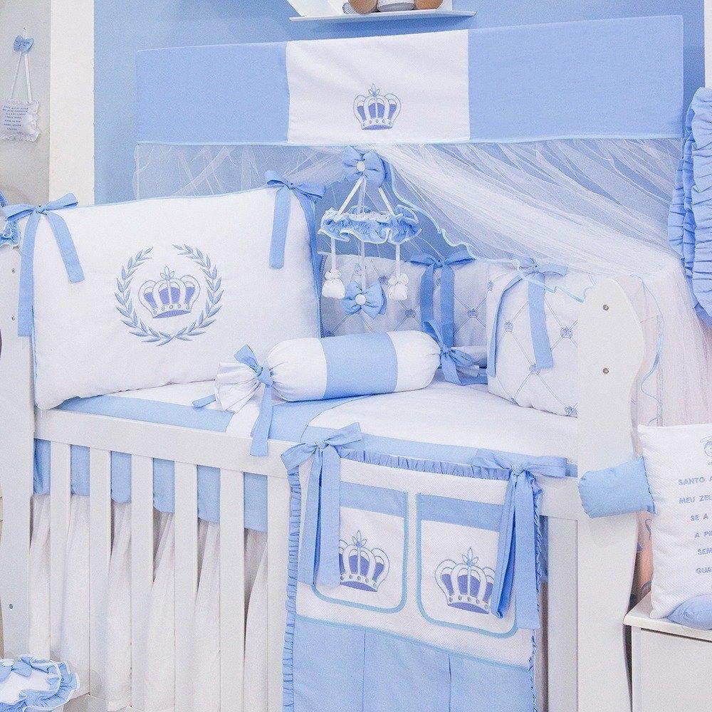 Kit Berço Realeza Azul