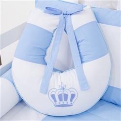 Almofada para Amamentação Realeza Azul