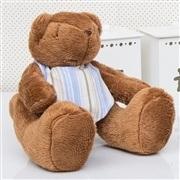 Urso P Bandana Listrada Azul