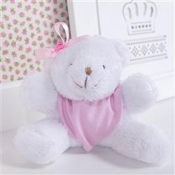 Urso Mini Bandana Rosa