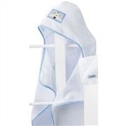 Toalha Felpuda com Capuz Azul