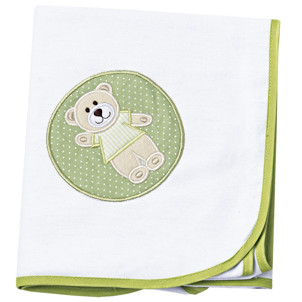 Cueiro Ursinho Verde