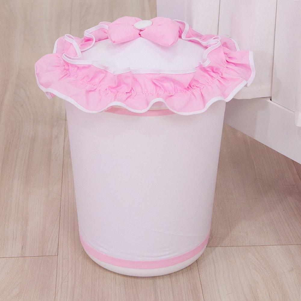 Lixeira Realeza Rosa