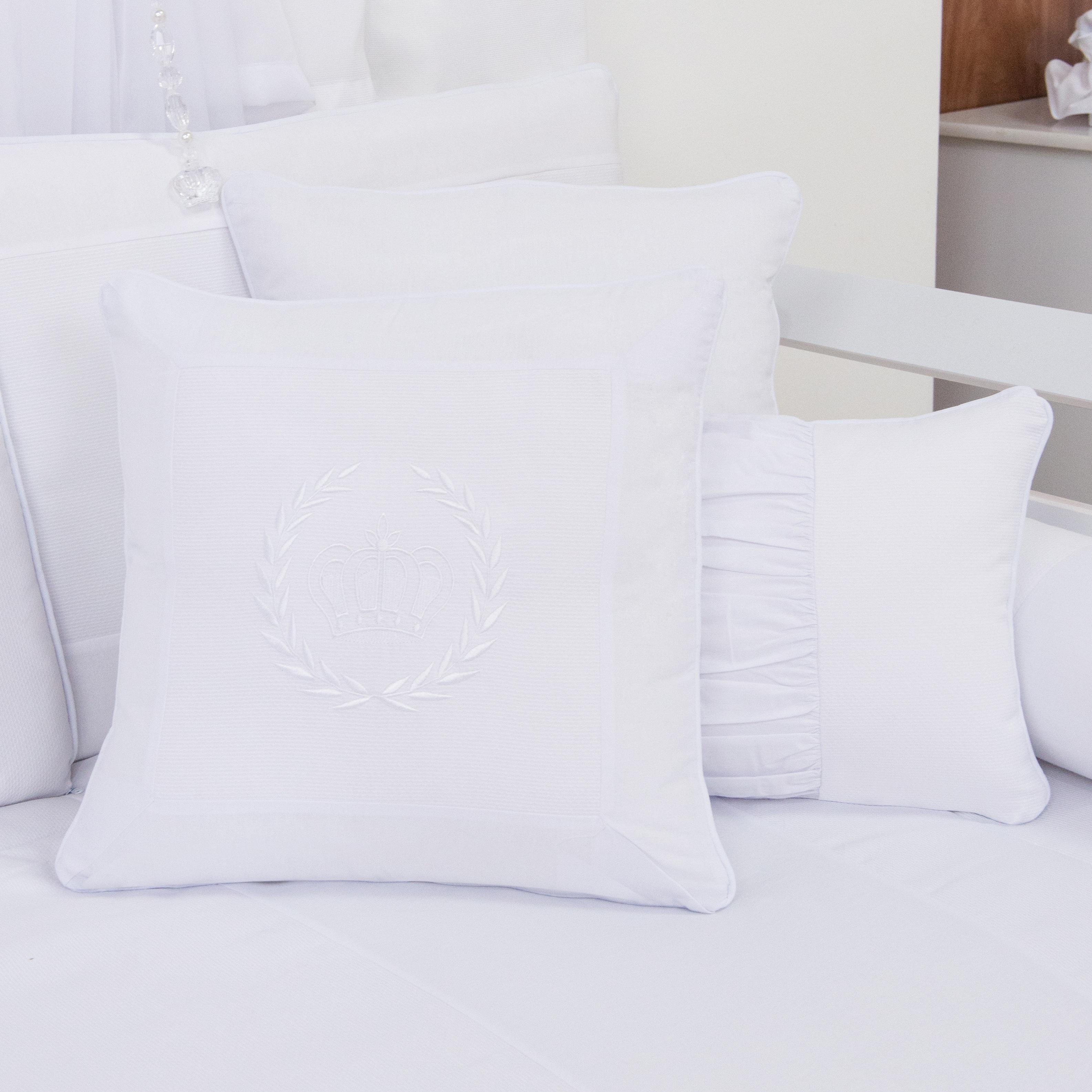 Almofadas Decorativas Realeza Branco