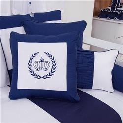 Almofadas Decorativas Realeza Marinho