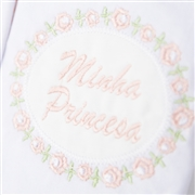 Kit Fraldas e Toalha de Banho Minha Princesa