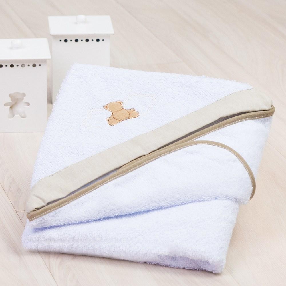 Toalha de Banho Teddy Cáqui