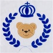 Tapete Urso Coroa Trigo Marinho