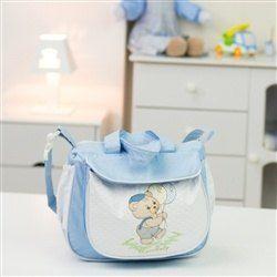 Frasqueira Maternidade Ursinho Balão Azul