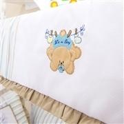 Quarto para Bebê sem Cama Babá Urso no Varal