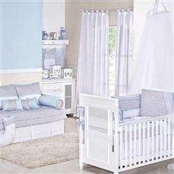 Quarto para Bebê Baby Chevron Azul