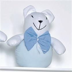 Enfeite Decorativo Urso Bola Céu Azul