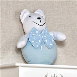 Enfeite Urso Bola Estampado Nature