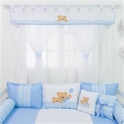 Cortina Urso Amigo Azul