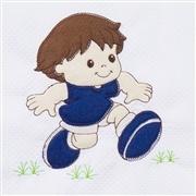 Quarto para Bebê sem Cama Babá Futebol