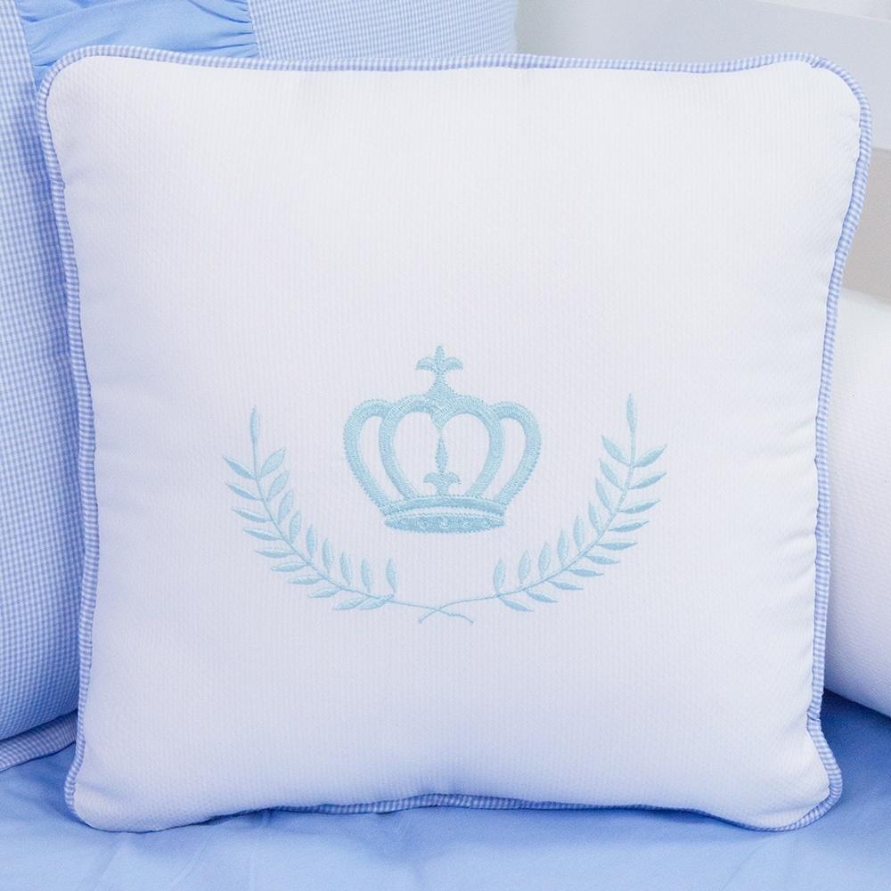 Almofada Decorativa Bordada Príncipe