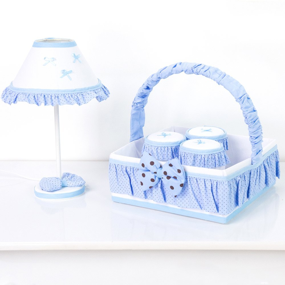 Kit Acessórios Soninho Azul