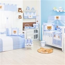Quarto para Bebê Soninho Azul