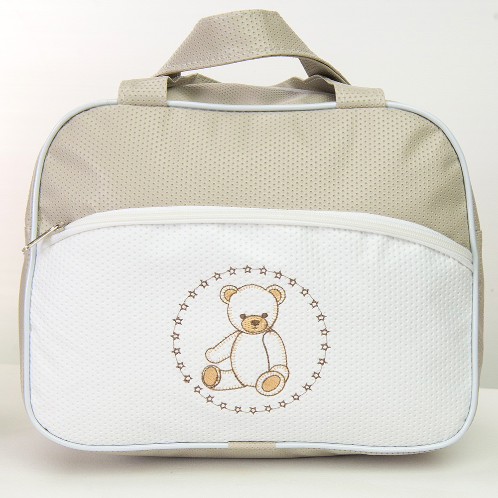 Frasqueira Maternidade Teddy Cáqui