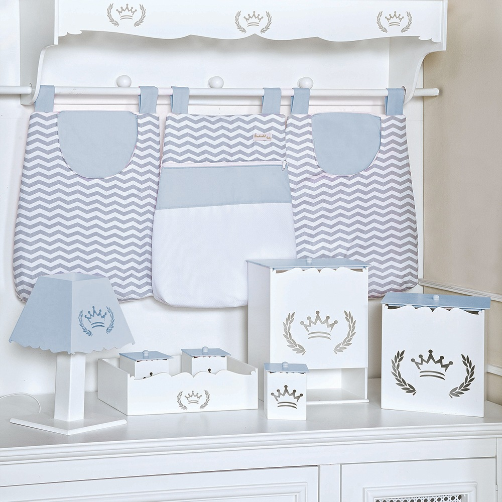 Kit Higiene Coroa Azul