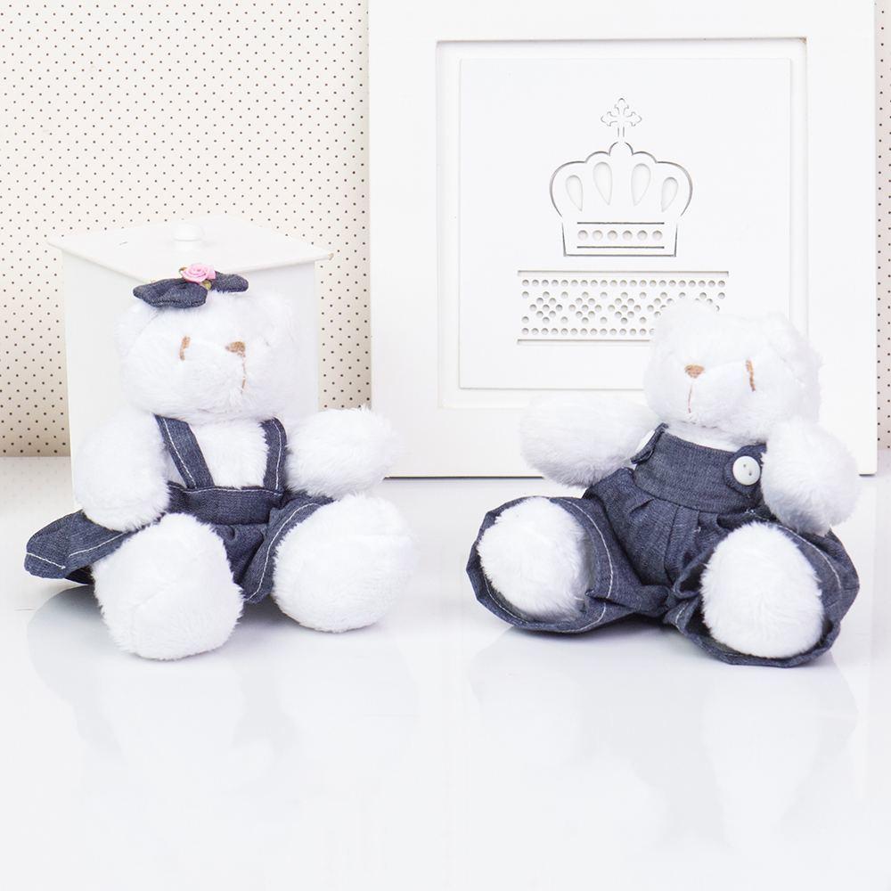 Irmãos Ursos Jardineiros Branco