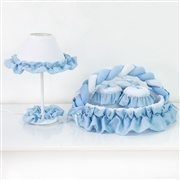 Kit Acessórios Transportes Azul Bebê