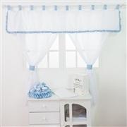 Quarto para Bebê sem Cama Babá Transportes Azul Bebê