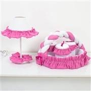 Kit Acessórios Ursa Flor Pink