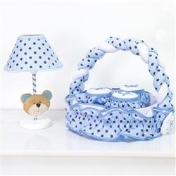 Kit Acessórios Família Urso Azul