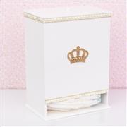 Kit Higiene Completo Realeza Dourada com Pérolas e Strass