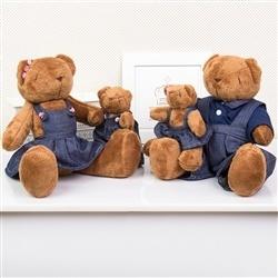 Família Ursos Jardineiros Marrom