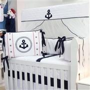 Quarto para Bebê sem Cama Babá Âncora