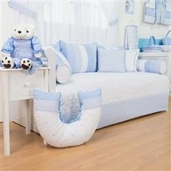 Kit Cama Babá Marina Azul Bebê