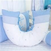 Almofada para Amamentação Marina Azul Bebê