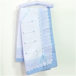 Manta Marina Azul Bebê