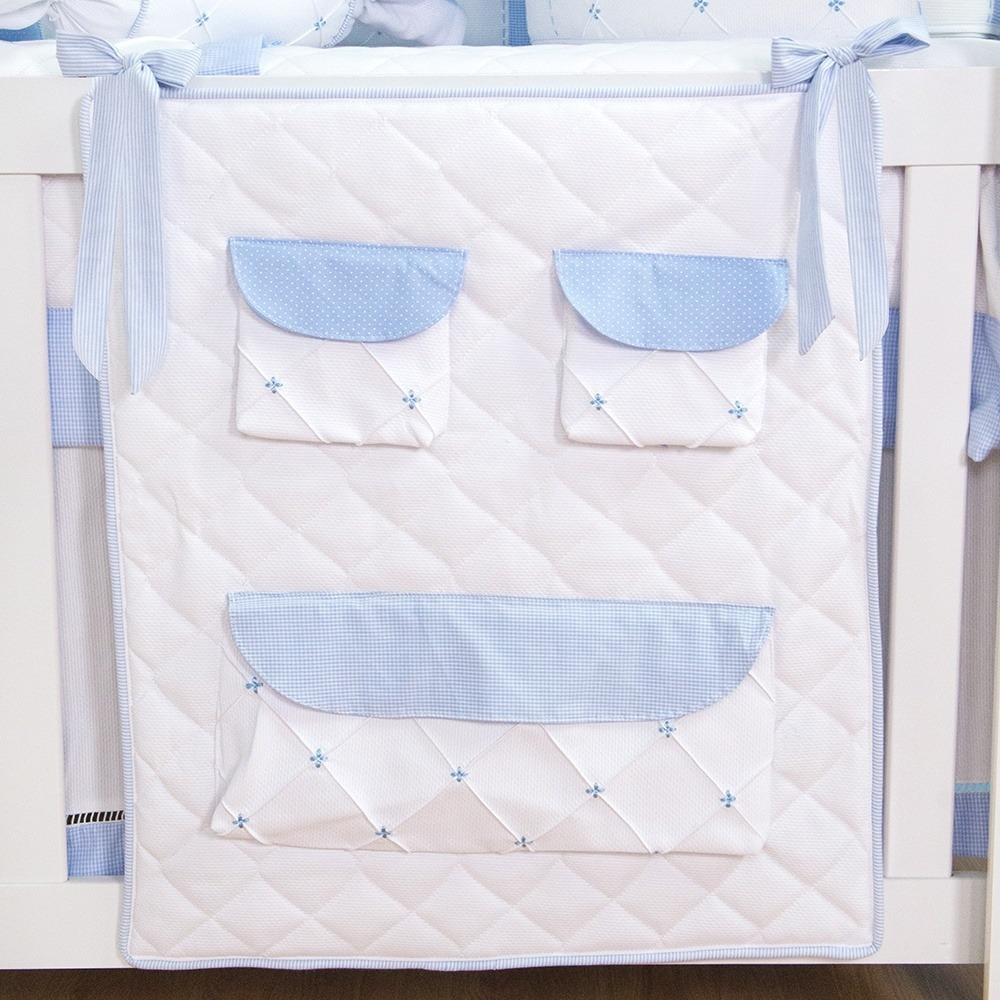 Porta Treco Marina Azul Bebê