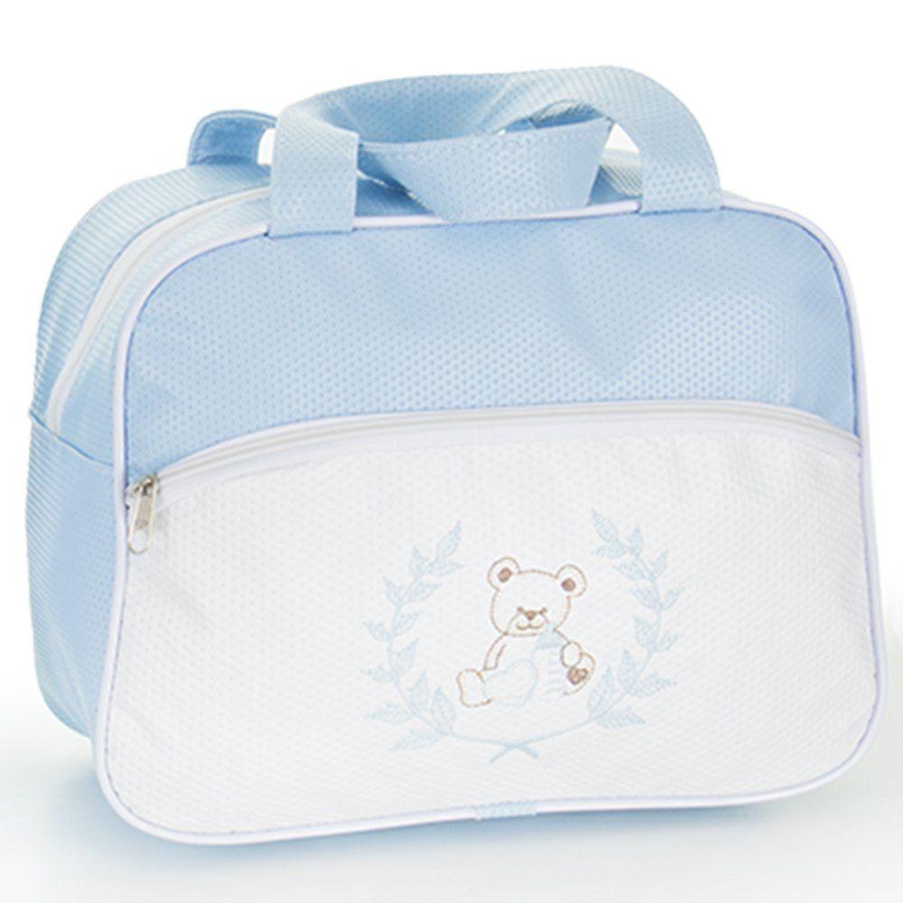 Frasqueira Maternidade Ursinho Azul