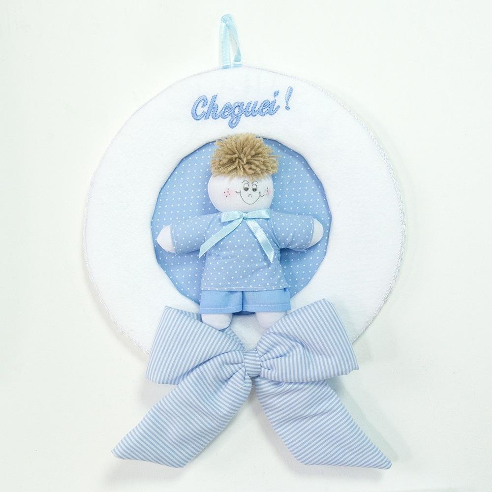 Enfeite Marina Azul Bebê