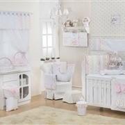 Quarto para Bebê sem Cama Babá Marina Rosa
