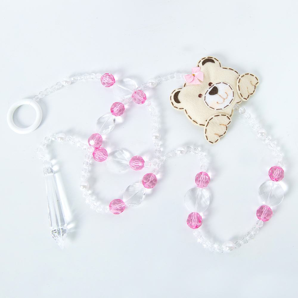 Pêndulos Família Urso Rosa
