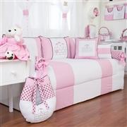 Quarto para Bebê Família Urso Rosa