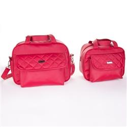 Conjunto de Bolsas Maternidade Vermelha