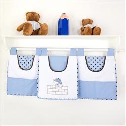 Prateleira Completa Família Urso Azul