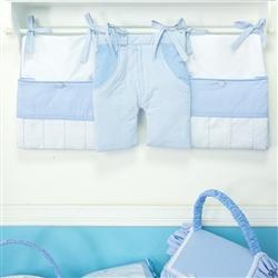 Prateleira Completa Marina Azul Bebê