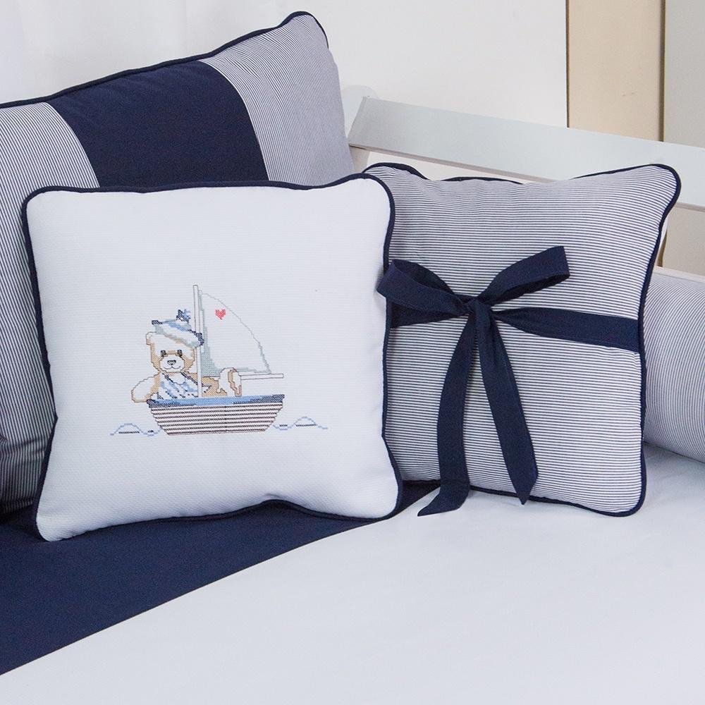 Almofadas Decorativas Ursinho Navegador