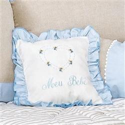 Almofada Meu Bebê Royal Azul