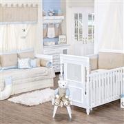Quarto para Bebê Dupla Face Royal Azul