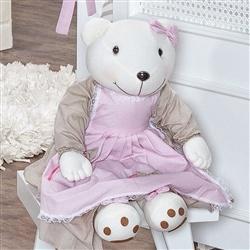 Ursa Porta Fraldas Royal Rosa